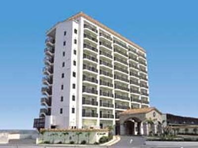 写真:那覇ビーチサイドホテルの外観