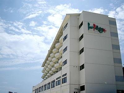 写真:リゾートホテルベルパライソの外観