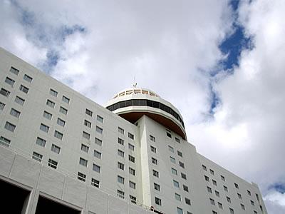写真:沖縄都ホテルの外観