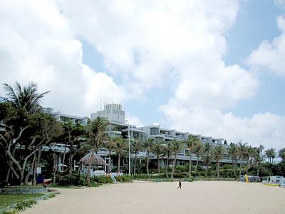 写真:ムーンビーチパレスホテル