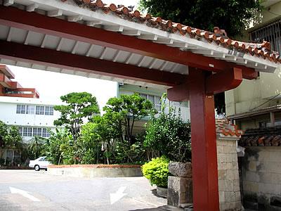 写真:沖縄ホテルの外観