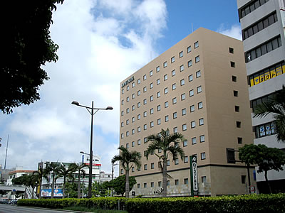 写真:リッチモンドホテル那覇久茂地の外観