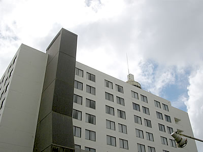 写真:ホテルロイヤルオリオンの外観