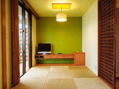 和室(こだわりの琉球畳)